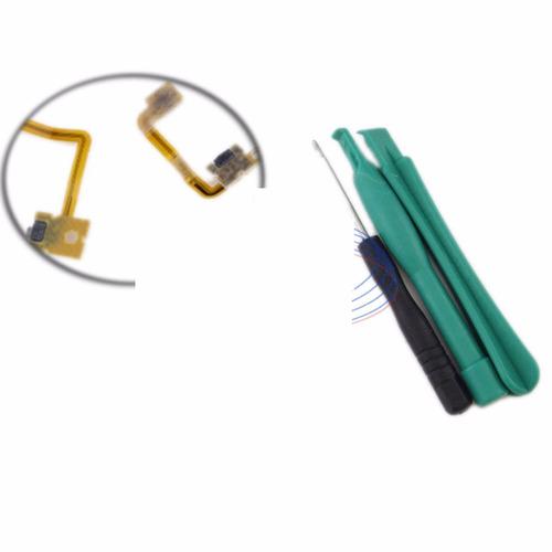 cable flex boton shoulder l + r para nintendo 3ds n3ds