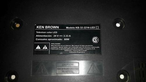 cable flex conector tv ken brown de t-con a main kb32-2214