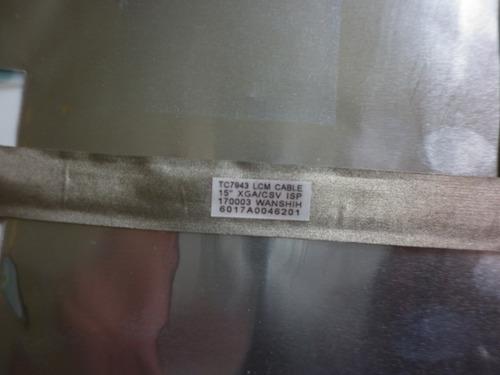 cable flex de video para laptop toshiba a65-s126