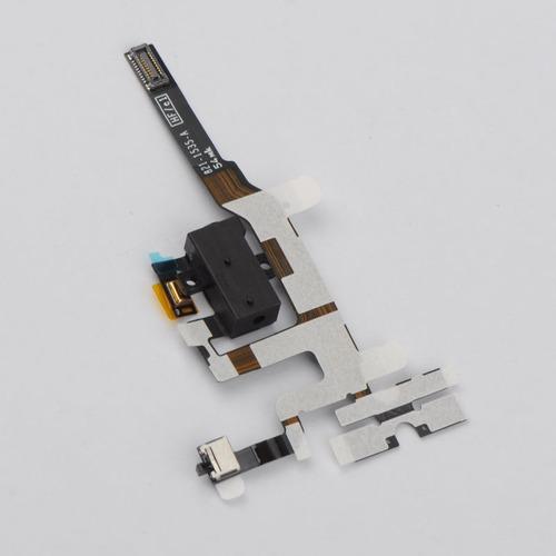 cable flex power jack audio audifonos para iphone 4s