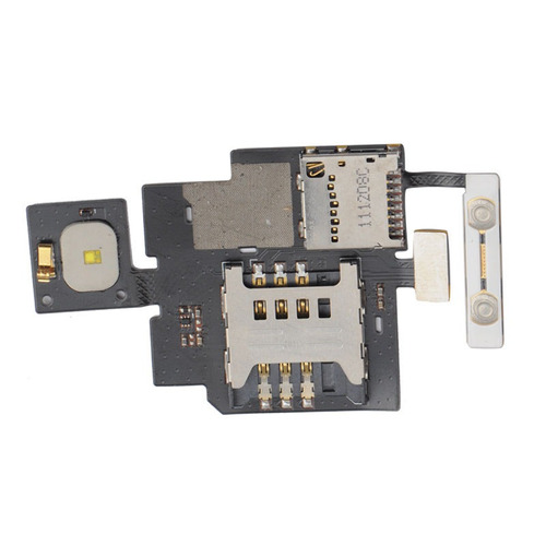 cable flex sim memory card holder  socket tray para lg p720