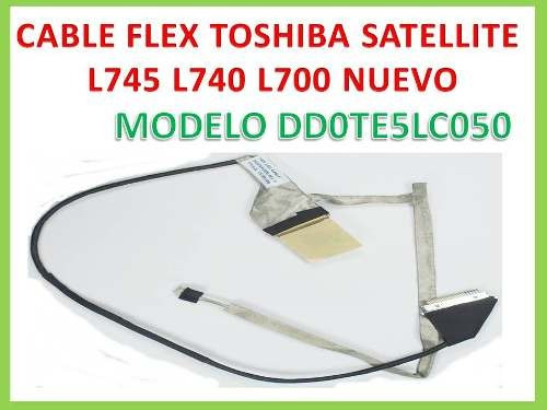 cable flex toshiba satelite l745 l700 l740