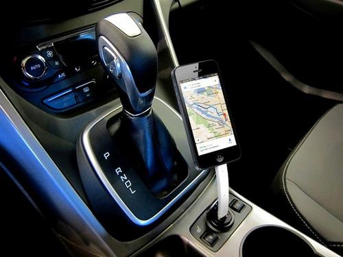 cable flexible holder dispositivos android otros carro