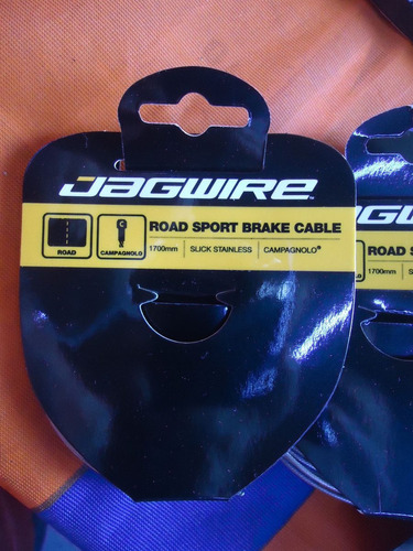 cable freno bicicleta jagwire ruta inoxidable campagnolo