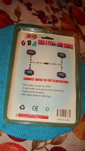 cable gba para jugar con 4 game boy conectados entre si.