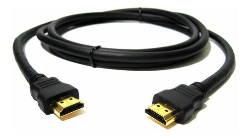 cable hdmi 1 metro pc notebook liso calidad gtia