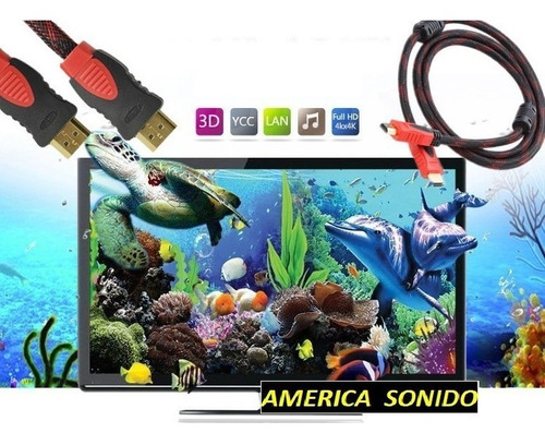 cable hdmi 10 metros full hd 1080p bluray 3d ps3 dvd tv