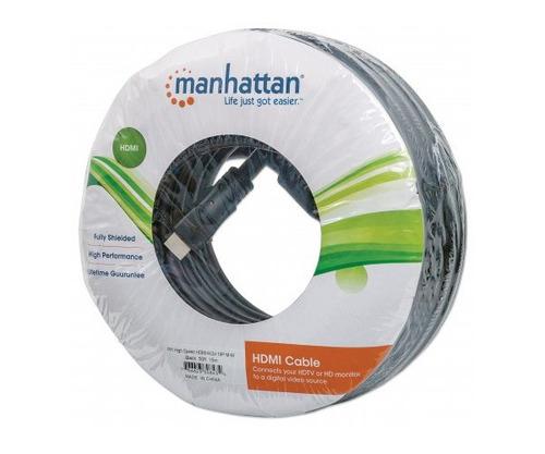 cable hdmi 1.3 m-m tv blueray 15m hd 4k manhattan 308434