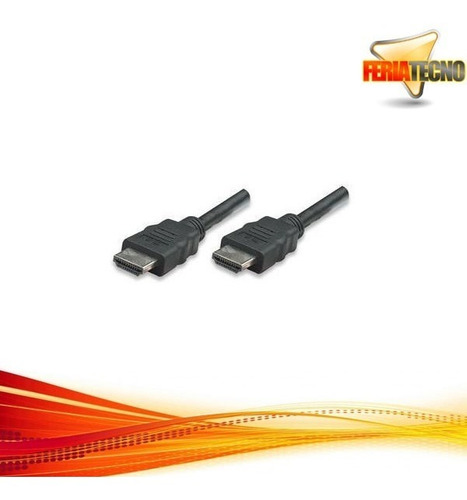 cable hdmi 1.5 mts. macho/macho. v.1.4. boleta o factura