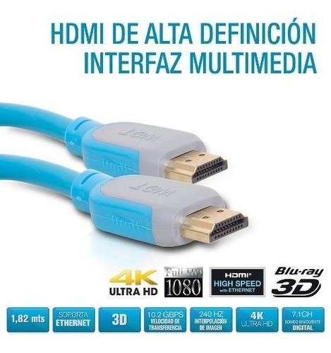 cable hdmi 1.5 mts tagwood tienda oficial
