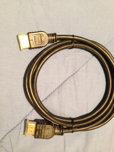 cable hdmi 1.8 metros 1080p full hd 1.4 v bluray ps4 ps3 tv