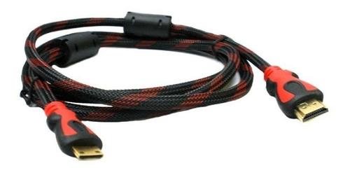 cable hdmi 1.8 metros doble filtro v1.4