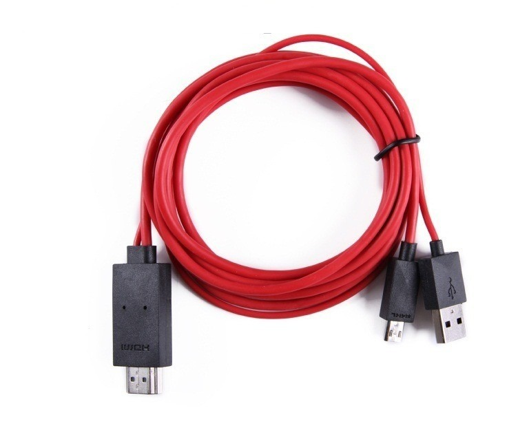 Cable Hdmi 2 Mts Para Samsung S3 S4 S5 Note 2 Note 3