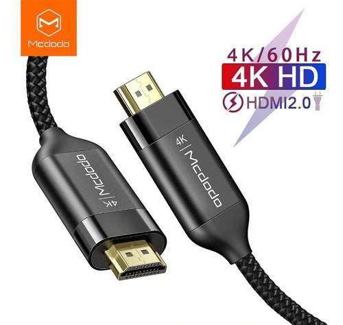 cable hdmi 2.0 4k 60hz 2m mcdodo