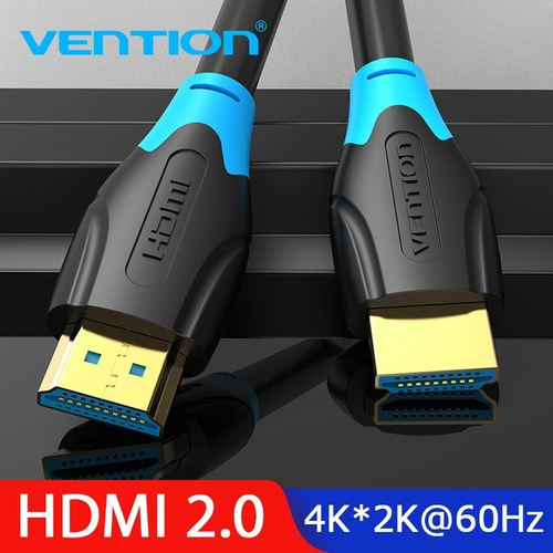 cable hdmi 2.0 certificado 4k 5 metros 18 gbps  vention