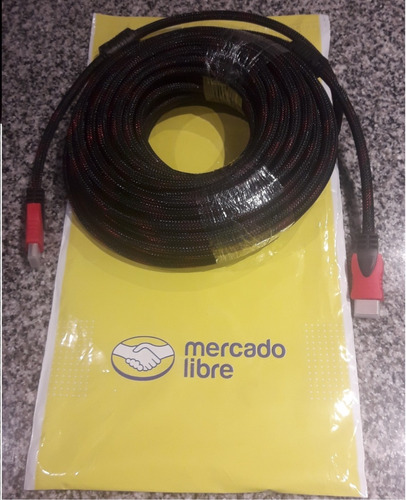cable hdmi 20 mts v1.4 full hd ps4 proyector dvd blueray