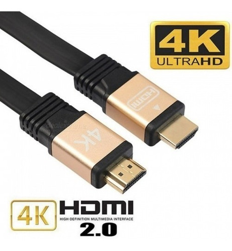 cable hdmi 2.0v  4k ultra hd/3d 1.5 metros