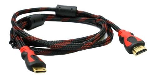 cable hdmi 3 metros full hd mallado 2 filtros led smart tv