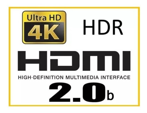 cable hdmi 4k 3 metros 2.0 resistente negro led oled ps4 pro