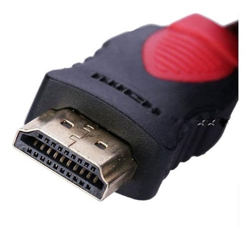 cable hdmi 4k  7 metros enmallado doble filtro