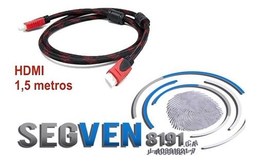 cable hdmi 4k ultra hd 1.5 metros ps3 xbox ps4 dvr 1080p