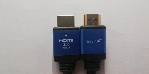 cable hdmi 4k version 2.0 1.5 metros