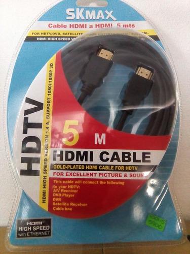 cable hdmi 5 metros suministros fauca