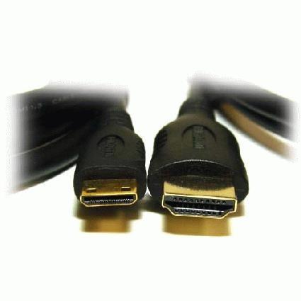 cable hdmi (a)  a mini hdmi (c) macho/macho 1.82 mts.