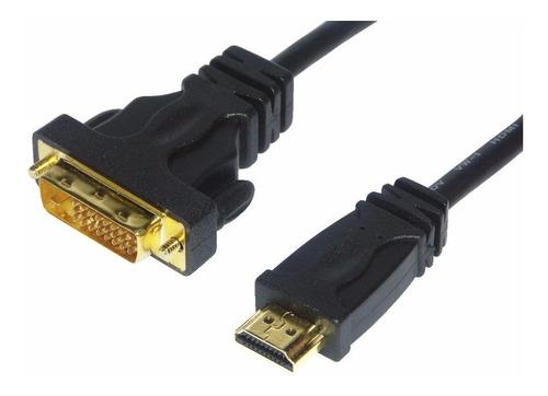 cable hdmi a dvi-i 24+5 dual link de 1.8 mts