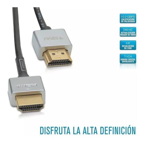 cable hdmi a hdmi full hd 2mts hdmi53 tagwood 1080p
