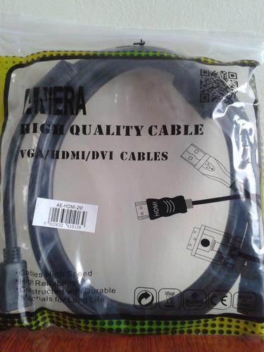 cable hdmi a hdmi negro 2 metros