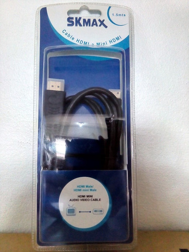 cable hdmi a mini hdmi 1.5 mtrs suministros fauca