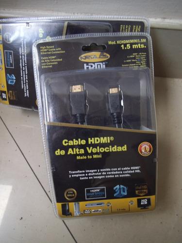 cable hdmi a mini hdmi