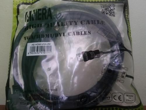 cable hdmi a vga 2m