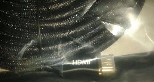 cable hdmi c/ malla 20m v1.4 m- m  uso rudo conector alumino