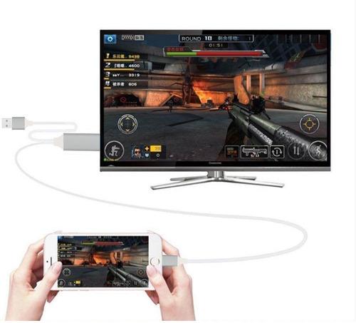cable hdmi convertidor smart tv box conversor full hd iphone ipad