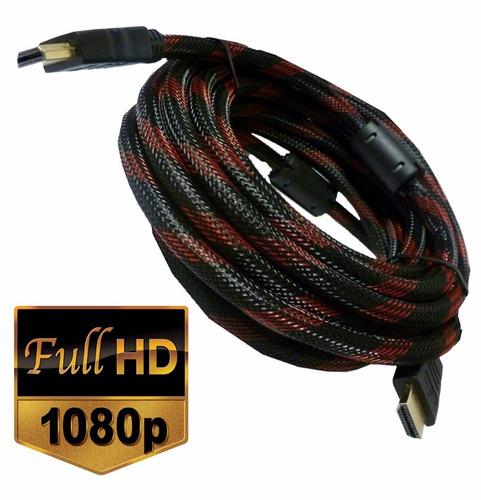 cable hdmi de 10 metros audio y video v1.4 blindado mallado