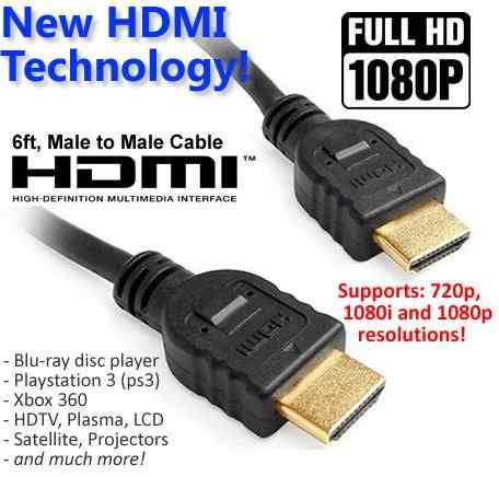 cable hdmi de 3 metros hd 1080p high definition bilster