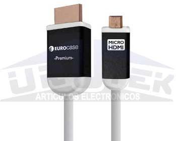 cable hdmi de alta velocidad con ethernet euca hdmi 3002