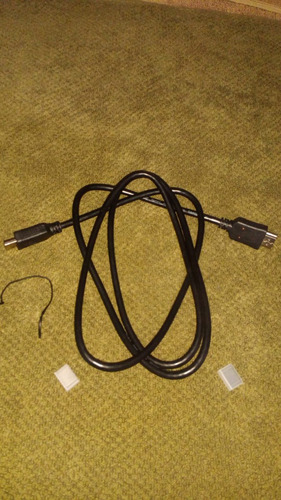 cable hdmi de metro y medio color negro!
