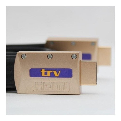 cable hdmi full hd 1080-3d -4k -3mts- trv electronics