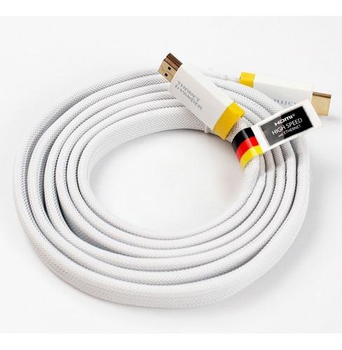 cable hdmi full hd 4k blanco thonet vander 2 mts smart pro