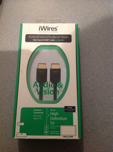 cable hdmi - iwires - high speed 2.0mts