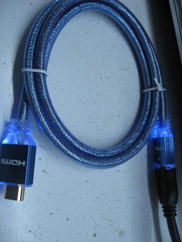 cable hdmi led 3d internet oro 24k  ver 1.4 tv  lcd 1,80mts.