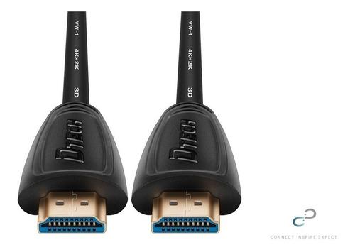 cable hdmi liso 2m 2 m metros versión 2.0 linea premium 4k