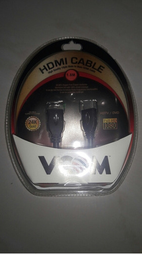 cable hdmi macho hembra 1.8m vcom 24k full hd