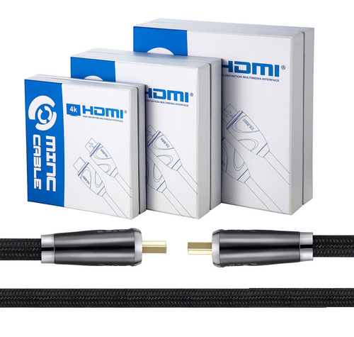 cable hdmi minc 20 pies -hdmi 2.0 ready -26awg, cl3 -soporta