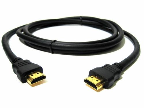 cable hdmi m/m 1,80 m fichas doradas