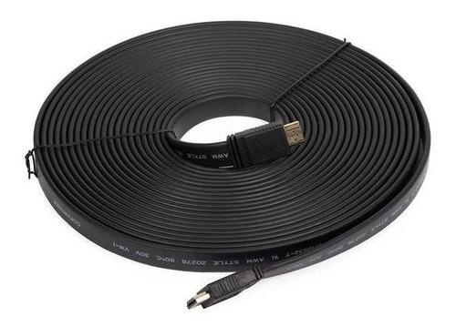cable hdmi m/m plano 10metros 3d 1080p 4k skyway sk-10pl
