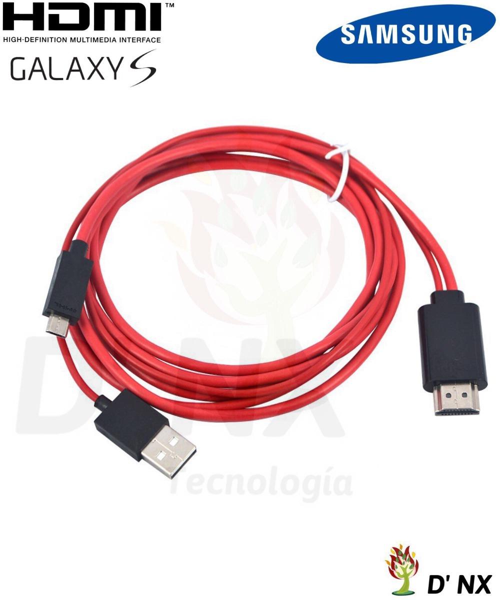 Cable Hdmi Para Celular Samsung Galaxy 1 5 Metros 13